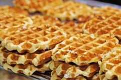 Belgian wafer Stock Photo