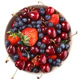 Delicious berries on the table Royalty Free Stock Images