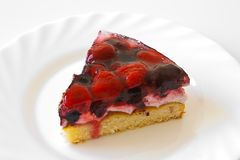 Delicious berry tart Royalty Free Stock Photos
