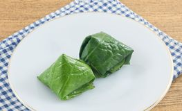 Delicious Betel Leaf Wrapped Bite Size Appetizer Stock Photography