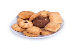 Delicious Biscuit Cookies Stock Photo