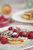 Delicious blinis Stock Photography