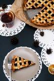 Delicious, blueberry pie Royalty Free Stock Photo