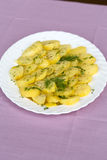 Delicious boiled potatoes Stock Photos