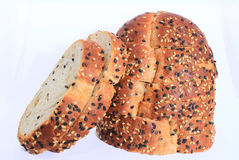 A delicious bread with sesame ready to eat. Breakfast, food, bread, tasty, delicious Stock Photography