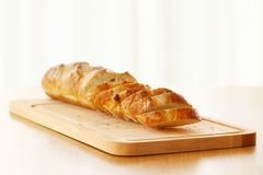 Delicious bread on the table Royalty Free Stock Photo