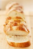 Delicious bread on the table Royalty Free Stock Photos