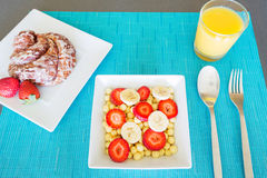 Delicious Breakfast Stock Photography