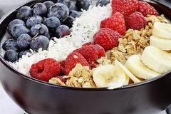 A Delicious Breakfast Buddha Bowl Stock Image
