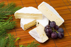 Delicious breakfast - camembert Royalty Free Stock Photo