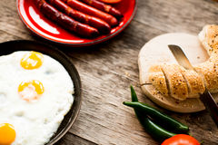 Delicious breakfast Royalty Free Stock Photo