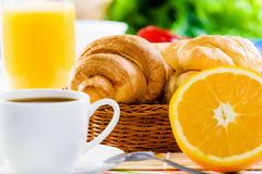 Delicious breakfast Stock Image