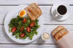 A delicious breakfast Stock Images