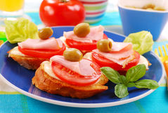 Free Delicious Breakfast For Child Royalty Free Stock Image - 16041416