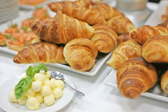 A delicious breakfast in a hotel Stock Images