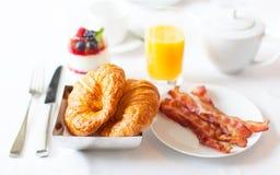 Delicious brekfast stock photo