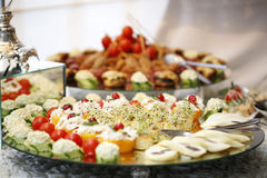 Delicious buffet food Royalty Free Stock Photo