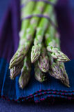 Delicious bunch of fresh green asparagus Royalty Free Stock Image