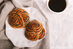 Delicious buns Royalty Free Stock Photography