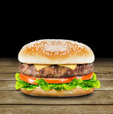 Delicious burger Royalty Free Stock Images