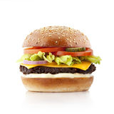 Delicious burger Royalty Free Stock Photography