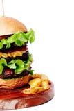 Delicious burger Stock Photo