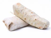 Delicious burrito Stock Photos