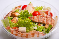 Delicious Caesar salad Stock Images