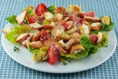 Delicious Caesar Salad royalty free stock image