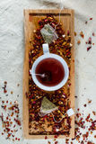 Delicious caffeine-free infusion of dried fruit, a Royalty Free Stock Photo