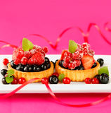 Delicious cake royalty free stock photos