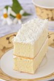 Delicious  cake with cream Stock Photo
