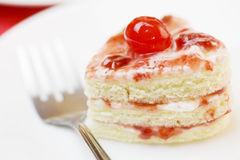 Delicious cake dessert Stock Images
