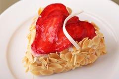 Delicious cake dessert closeup Stock Images