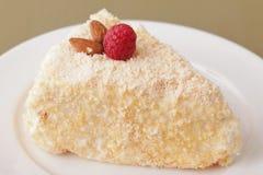 Delicious cake dessert closeup Stock Photography