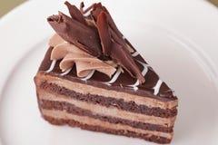Delicious cake dessert closeup Royalty Free Stock Photo