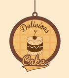 Delicious cake Stock Images