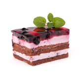 Delicious  cake piece Royalty Free Stock Photography