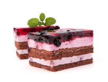 Delicious  cake piece Royalty Free Stock Photo