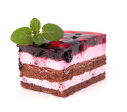 Delicious  cake piece Royalty Free Stock Image