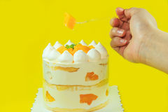 The delicious cake Royalty Free Stock Image