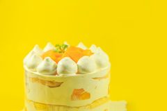 The delicious cake Stock Photography