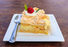 Delicious cake Stock Image