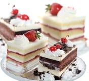 Delicious Cakes Royalty Free Stock Photo