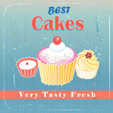 Delicious cakes Royalty Free Stock Images