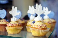 Delicious cakes. Birdie. The concept of food, party Stock Photography