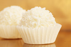Delicious candy. Close up of delicious coconut candy Royalty Free Stock Photos