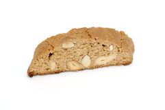 Delicious cantuccini cookie isolated Royalty Free Stock Image