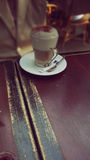 Delicious Capucchino for relax Stock Photography