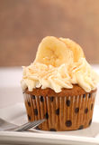 Delicious carrot cake cupcake Royalty Free Stock Photos